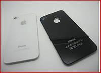 Сменная задняя панель для apple iphone 4g, стеклянная крышка для оригинального гаджета, белая / черная