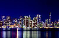 Схема для вышивки бисером Серия огни ночного города. Сан-Франциско. КМР 2130