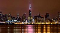 Схема для вышивки бисером Серия огни ночного города.Нью-Йорк КМР 2129