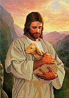 Схема для вышивки бисером Спаситель Иисус Христос КМИ 4163