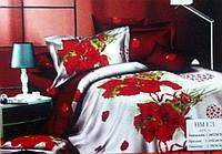 Комплект постельного белья  3 Д, 100 % хлопок