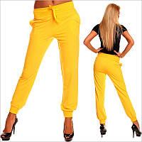 Желтые штаны женские