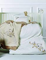 Постельное белье с пледом  для новорожденных Kraca Home Koala.