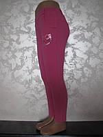 Лосины-брюки для девочек трикотажные Hello kitti Роза