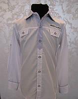 Турецкая рубашка для мальчиков Белая