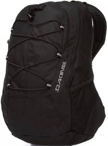 Стильный мужской городской рюкзак Dakine Transit 18L Black 610934726244 черный