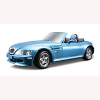 Авто-конструктор - BMW M ROADSTER (1996) (синий, 1:24)