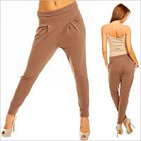 Женские брюки галифе с низкой посадкой