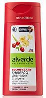 Шампунь с клюквенным маслом Alverde Color-Glanz Shampoo-Lindenblüte Cranberry 0,200 мл
