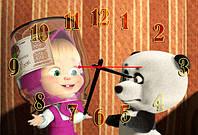 Детские часы-картина 30х45 см лучший подарок для ребёнка