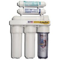 Фильтр LEADER RO-6 с минерализатором с отдельным краном и накопительным баком