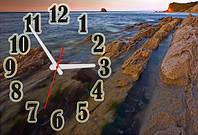 Часы-картина 30х45 см декор интерьера