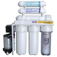 LEADER RO-6Р pump система обратного осмоса с минерализатором и помпой