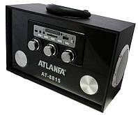 Портативная колонка ATLANFA AT-8815+Эквалайзер