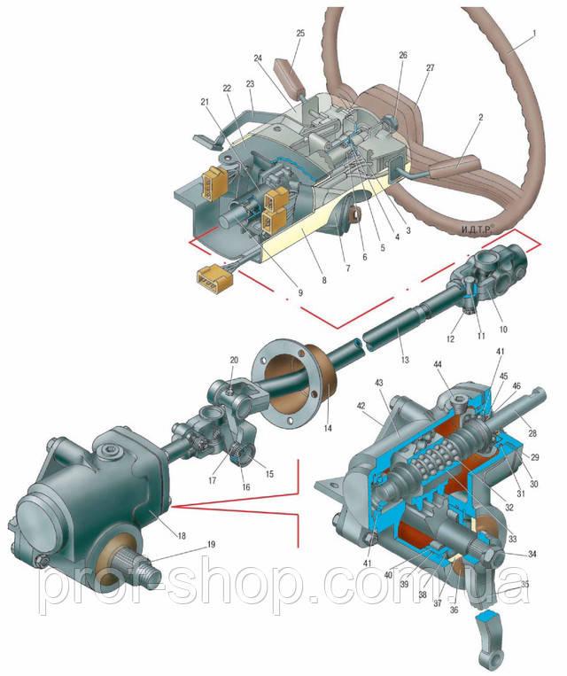 Рулевой механизм и рулевая