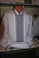 Чоловіча сорочка вишита нитками . Ручна робота. Розмір, 50,52.
