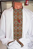 Чоловіча вишита сорочка. Ручна вишивка нитками. Розмір 54.