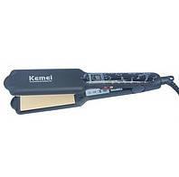 Керамический утюжок для волос Kemei professional KM-1287