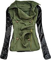Женская парка ,парка весенняя ,женская весенняя куртка-парка ,молодежная куртка парка цвет хаки