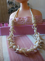 Бесподобное ожерелье из натуральной кости