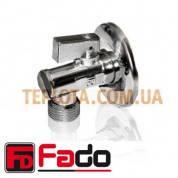 Кран угловой с фильтром FADO NEW 1*2 дюйма - 1*2 дюйма