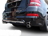 Накладка на передний и задний бампера Mercedes GL450 2006-2012