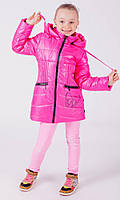 Куртка детская демисезонная для девочки Модница