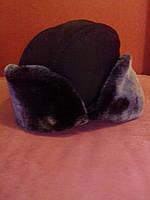 Шапка-ушанка из плащевки