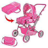 Детская коляска для куклы  9368/017, Melobo