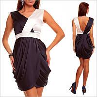 Вечернее платье в греческом стиле.