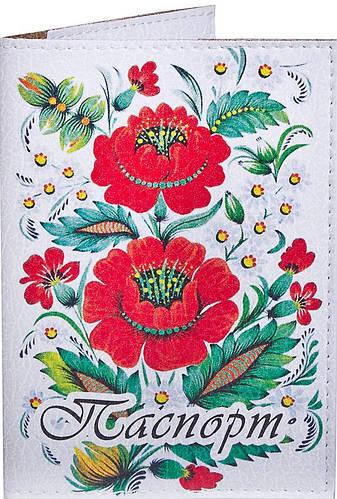 Женская удивительная обложка для паспорта PASSPORTY (ПАСПОРТУ) KRIV126