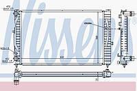 Радиатор охлаждения VW PASSAT 1996г.-2005г.(Nіssens)