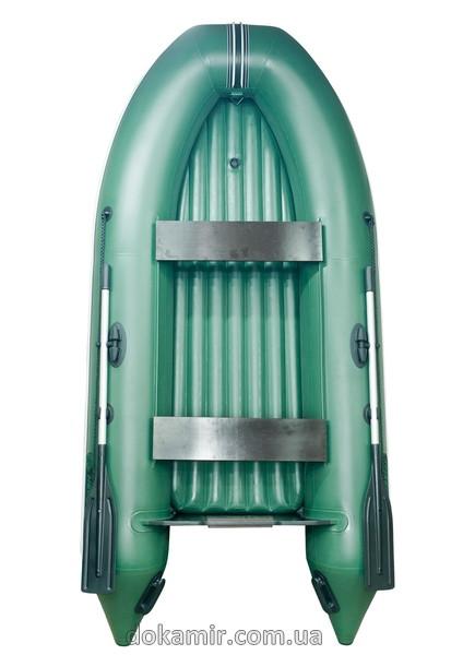 лодка с надувным дном гребная