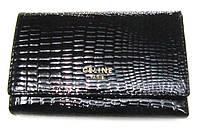 Кошелек женский Celine 625 черный натуральная кожа