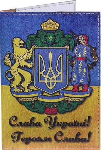 Превосходная мужская обложка для паспорта PASSPORTY (ПАСПОРТУ) KRIV120