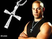 Крест Доминика Торетто + цепочка