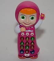 Развивающая музыкальная игрушка Joy Toy Умный телефон Машафон 513/09-4