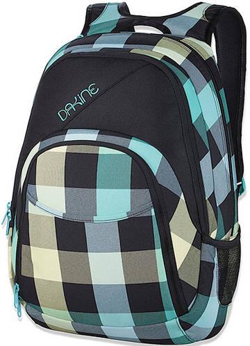 Женский рюкзак для города в клетку Dakine Eve 28L Pippa 610934829105 зеленый