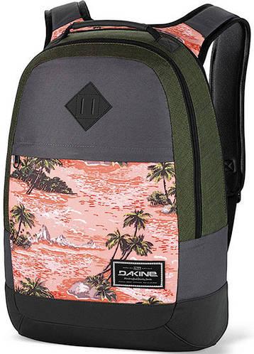 Компактный мужской городской рюкзак с принтом Dakine Contour 21L Aloha 610934842180 серый