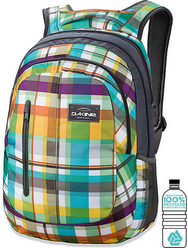 Мужской городской рюкзак в клетку Dakine Foundation 26L Belmont 610934842760 разноцветный