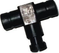 Дозатор газа одинарный 17-17 пластик
