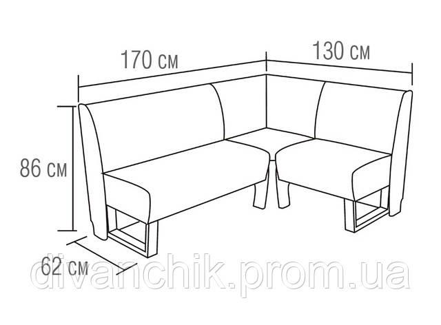 чертежи угловых кухонных диванов