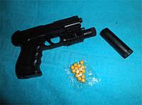 Детская игрушка пистолет с пульками