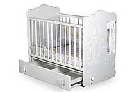 Детская кроватка для новорожденных «Тандем»  ТМ Pinocchio