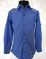 Нарядная подростковая рубашка для мальчиков Экстра