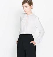 Белая блузка, офис вариант