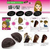Аксессуар для волос, парикмахерский инструмент, заколка для придания объема, набор из двух штук, цвет - черный