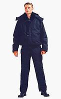 Утепленный водоотталкивающий полукомбинезон с курткой(палаточная ткань+синтепон)