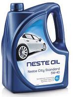 Масло моторное синтетическое Neste City Standard 5W40 (API SM/CF) 4л