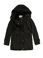 Куртка женская стеганная на весну, черная,весенняя женская куртка ,черная женская куртка